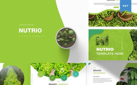 Nutrio | Keynote Template