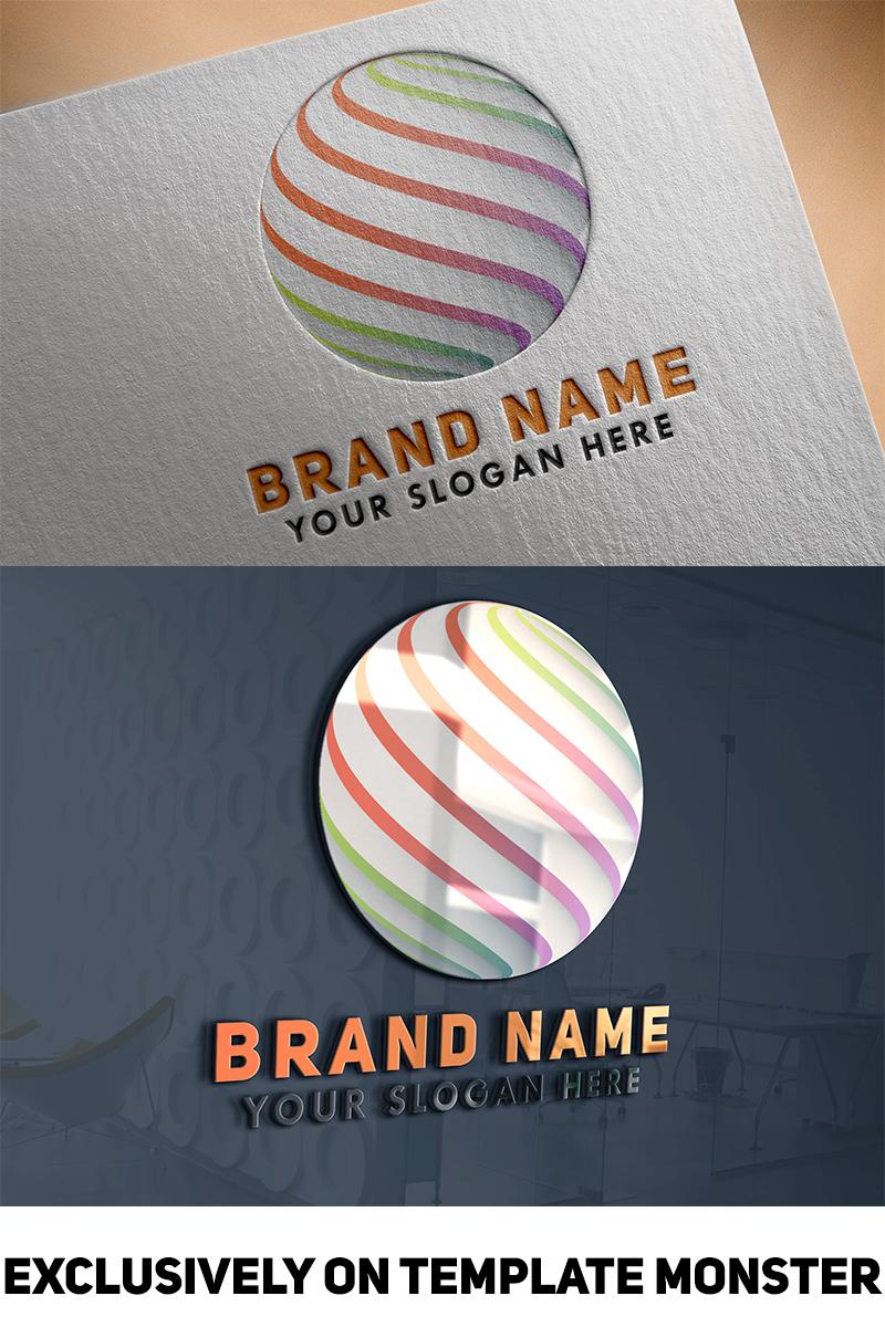 3d Sphere Logo Template