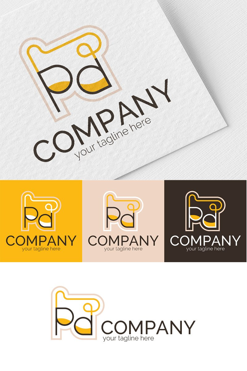 Distillation Logo Template