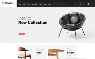 Dutch - Furniture Store OpenCart Template