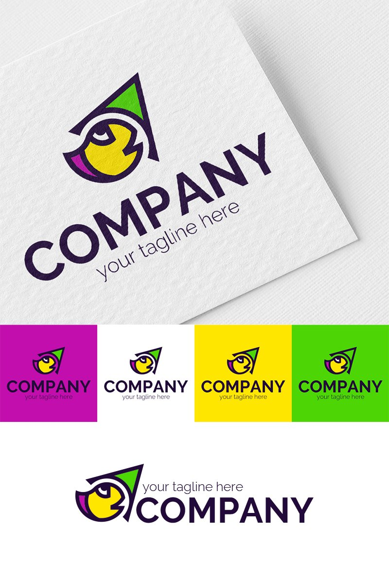 Funny Brush Logo Template
