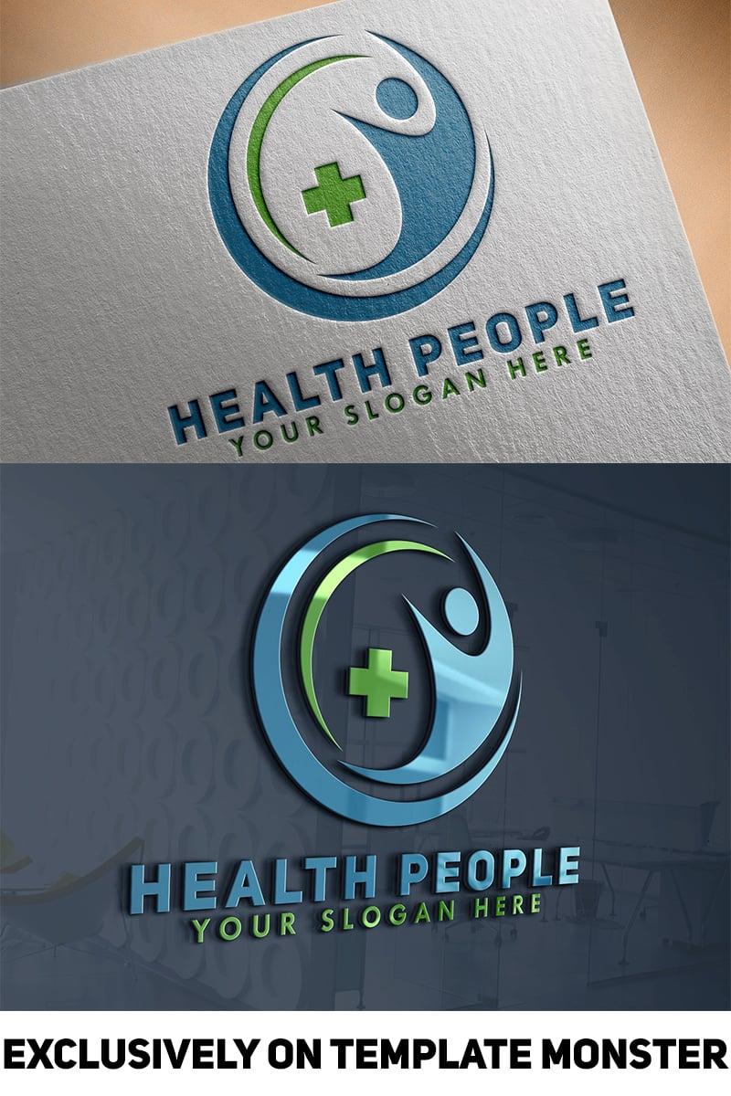 """Modello di Loghi #84233 """"Health People"""""""