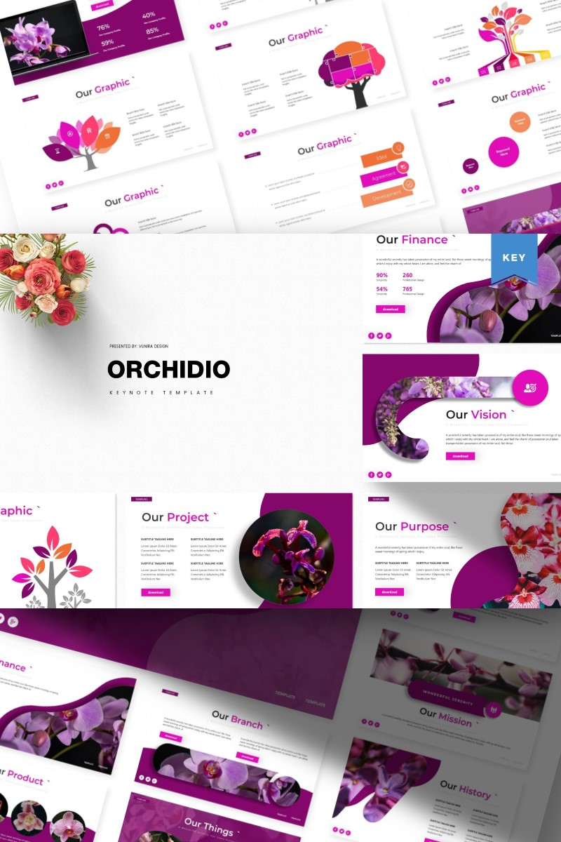 Orchidio | Keynote Template