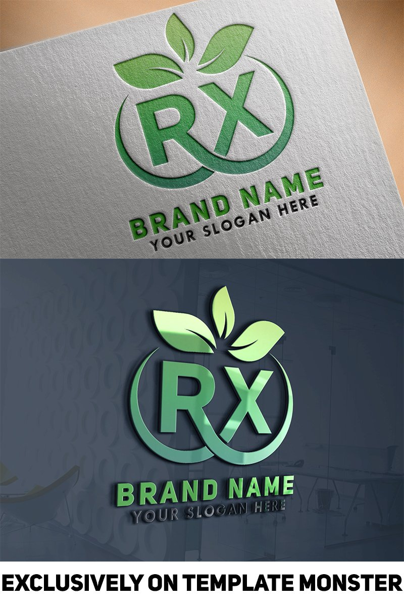 RX Letter Logo Template