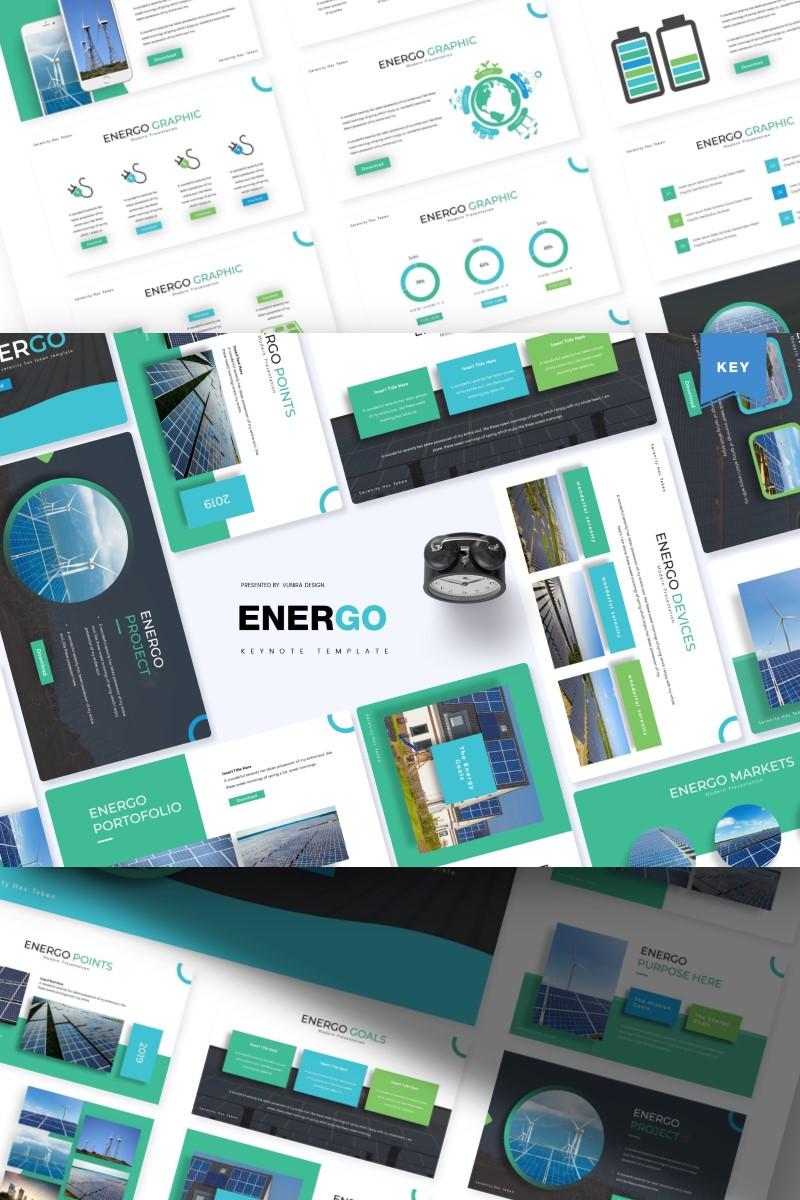 Szablon Keynote Energo   #84271