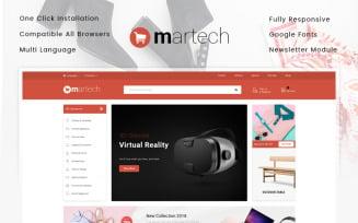 Martech - Mega Store OpenCart Template