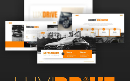 Luxidrive - Automotive PowerPoint Template
