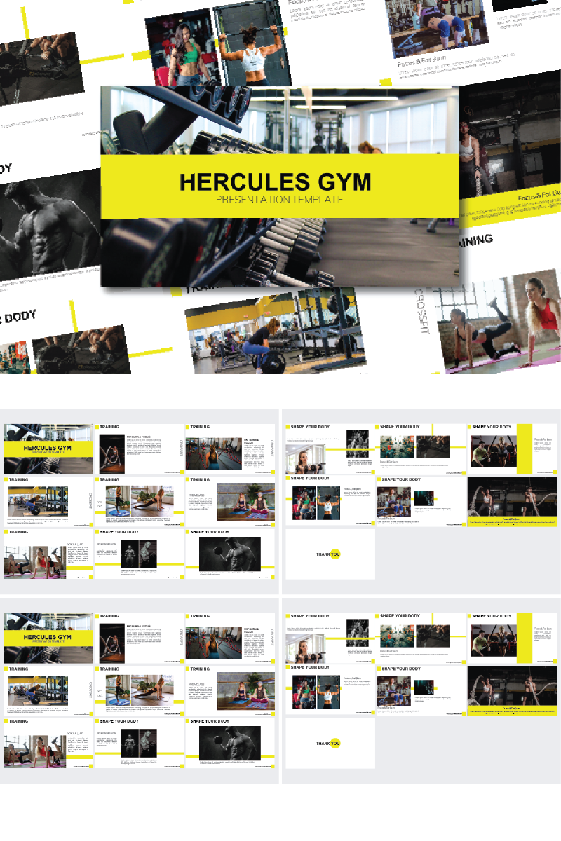 Hercules - Powerpoint Template PowerPoint Template