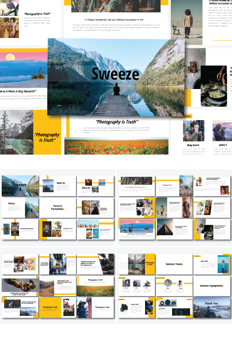 Sweeze - PowerPoint Template