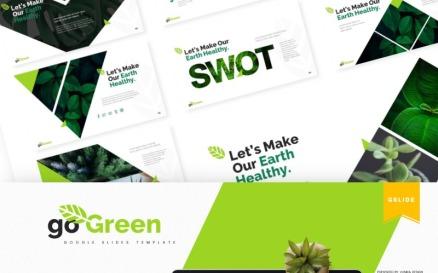 Go Green | Google Slide