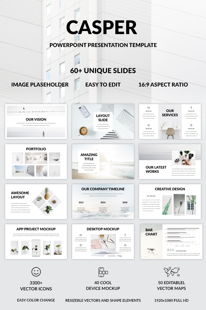 Casper PowerPoint Template