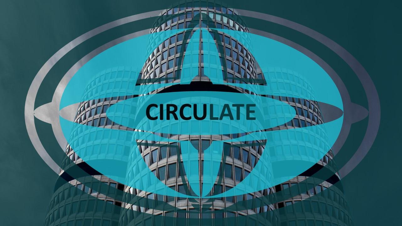 Circulate - Modern Business PowerPointmall #84343
