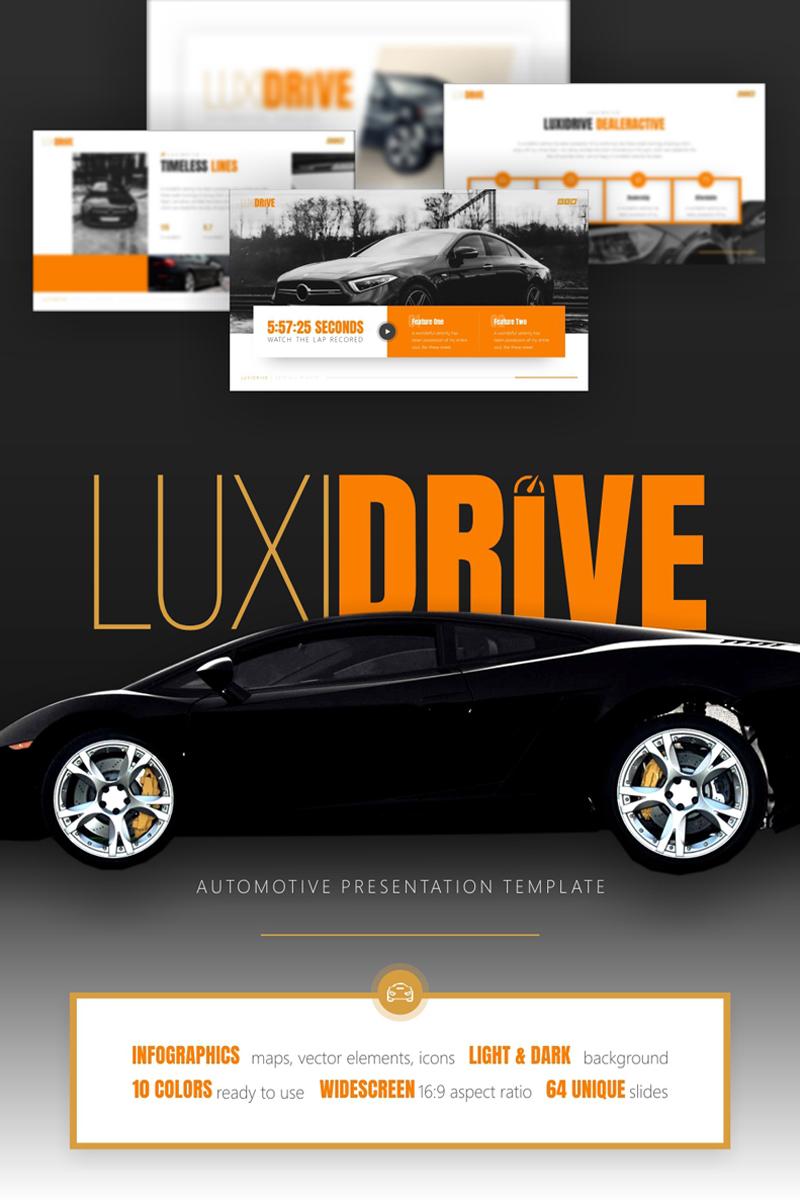 Luxidrive - Automotive PowerPoint Template