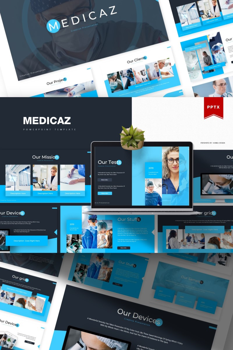 Medicaz | PowerPointmall #84330
