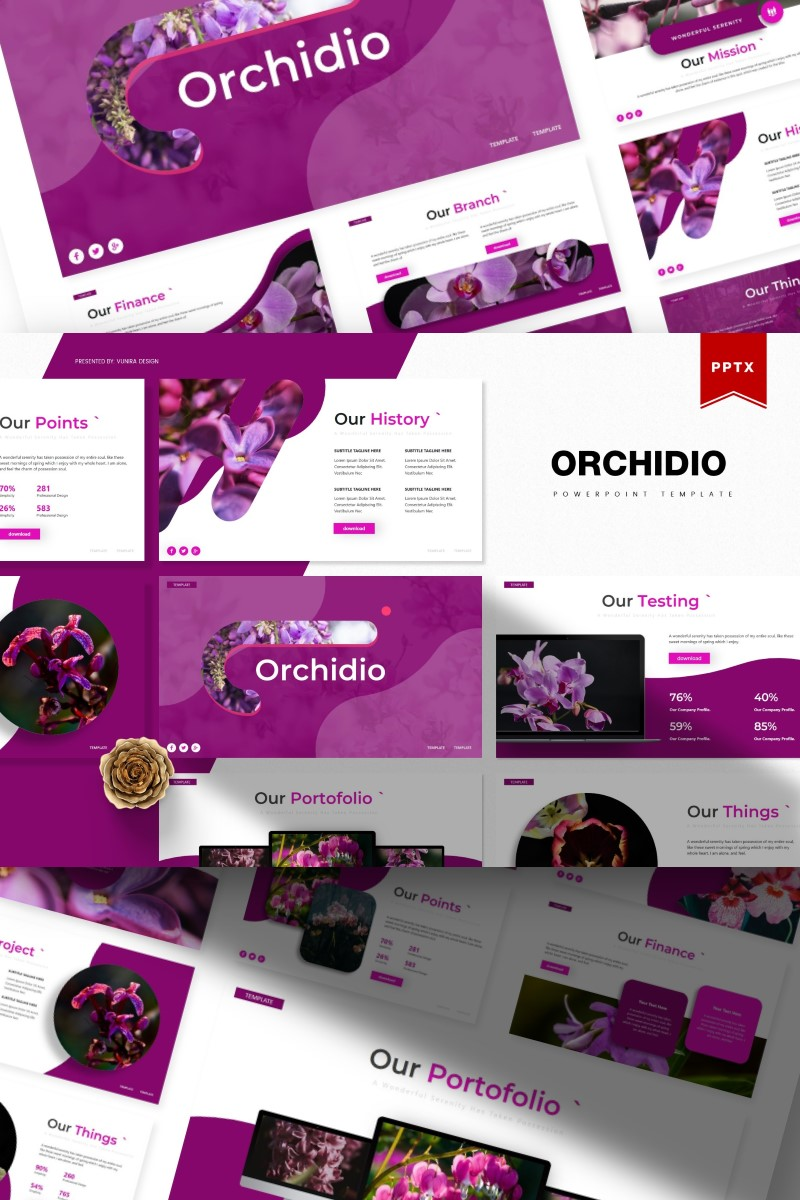 Orchidio | PowerPoint Template