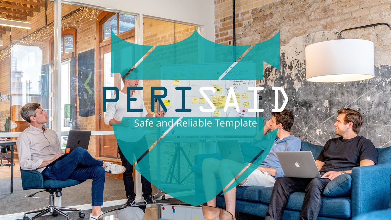 Perisaid - Exclusive Business PowerPoint Template - screenshot