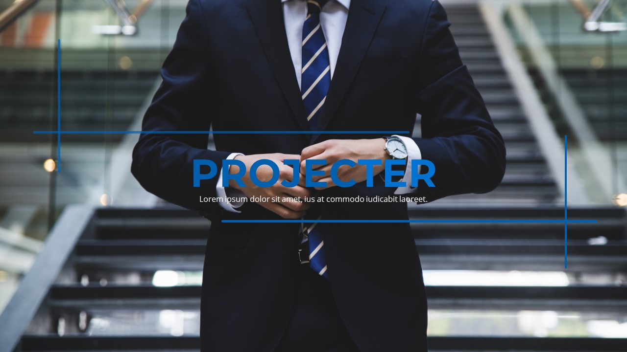 Projecter - Exclusive Business PowerPoint Template - screenshot