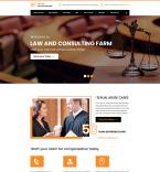 Юриспруденция и закон. Шаблон сайта 84411