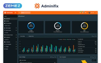 Adminifix - Creative Dashboard Admin Template