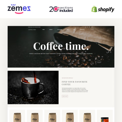 77+ Best Food & Restaurant Shopify Themes | TemplateMonster
