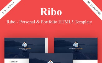 Ribo - Personal Portfolio HTML5 Landing Page Template