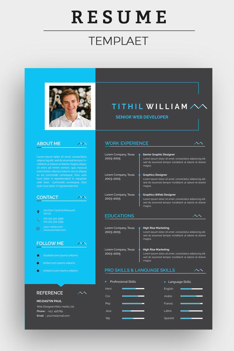 Tithil Create Editable Resume Template