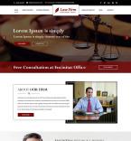 Юриспруденция и закон. Шаблон сайта 84509