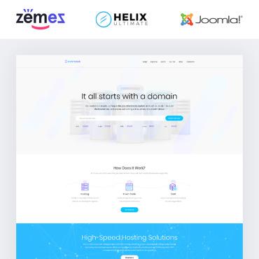 Купить  пофессиональные Joomla шаблоны. Купить шаблон #84633 и создать сайт.