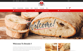Breads - Bakery PrestaShop Theme