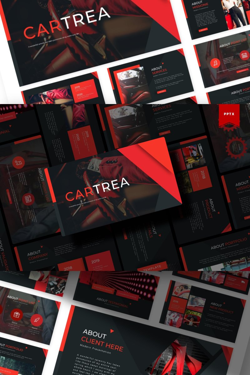 Cartrea | PowerPoint Template