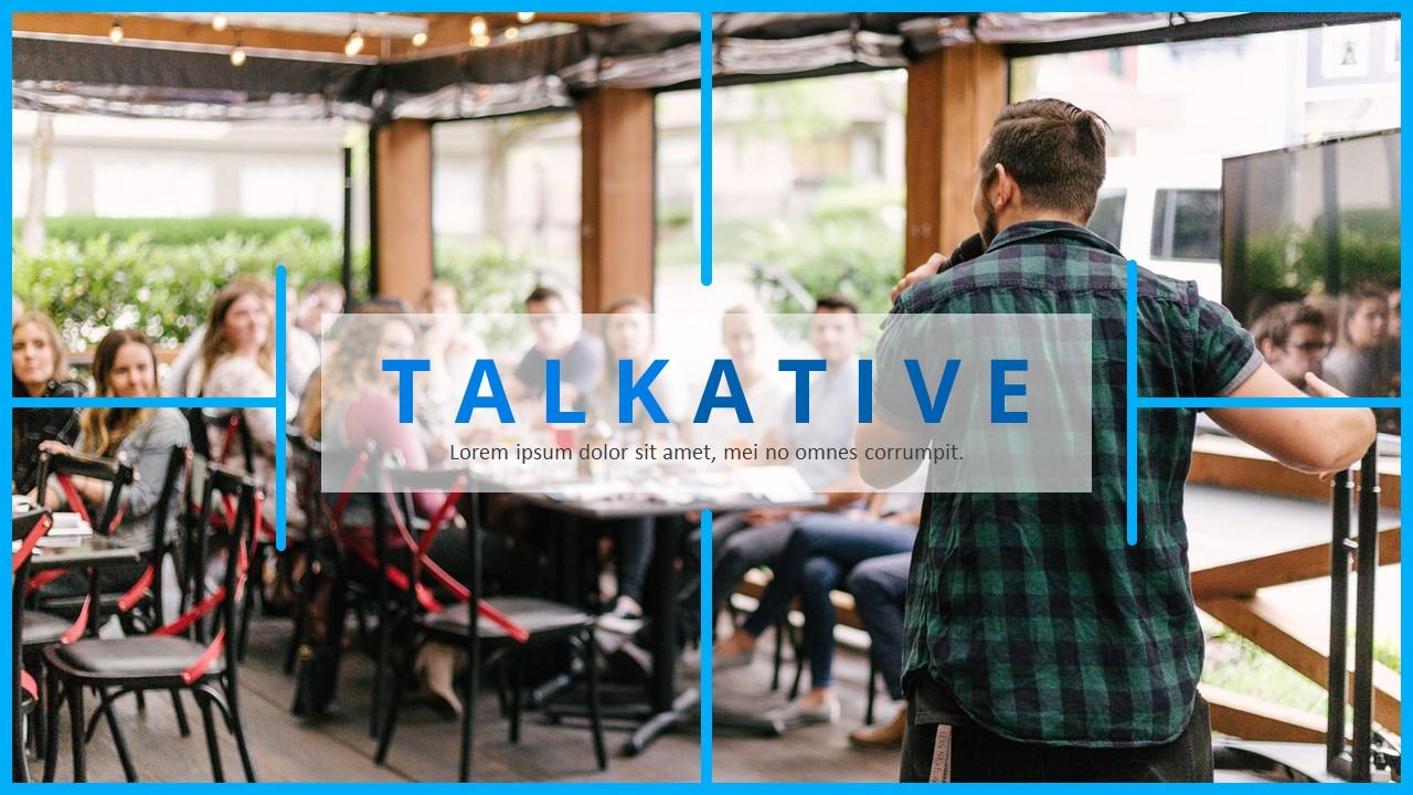 Talkative - Elite Business Google Slides - screenshot