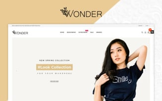 Wonder Fashion Multistore Store OpenCart Template