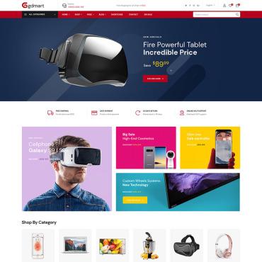 Купить  пофессиональные WooCommerce шаблоны. Купить шаблон #84705 и создать сайт.