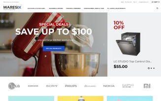 Waresix - Household Equipment Magento Theme
