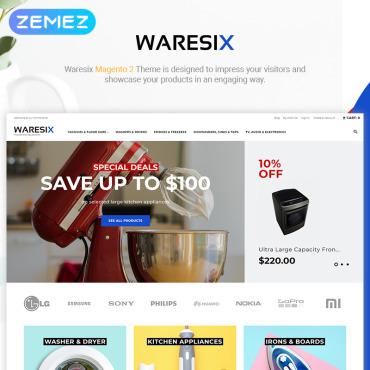 Купить  пофессиональные Magento темы. Купить шаблон #84722 и создать сайт.