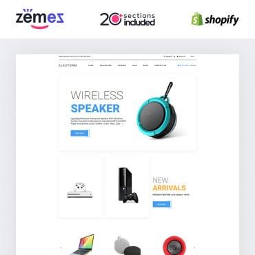 Купить  пофессиональные Shopify шаблоны. Купить шаблон #84734 и создать сайт.