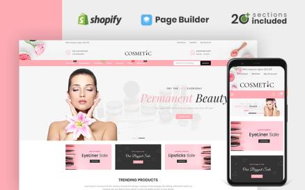 Cosmetics Store Shopify Theme