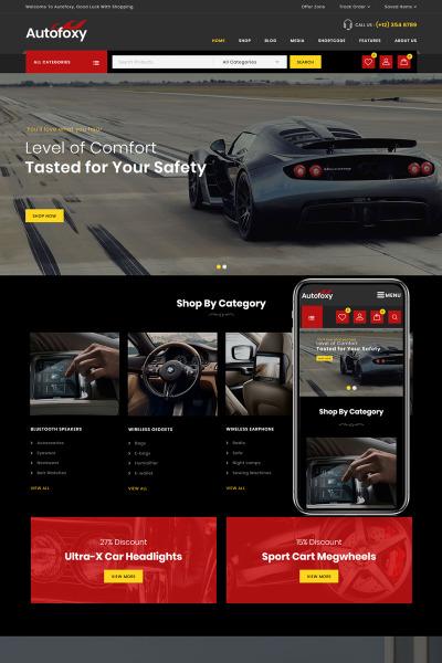 Autofoxy - Auto Parts Store