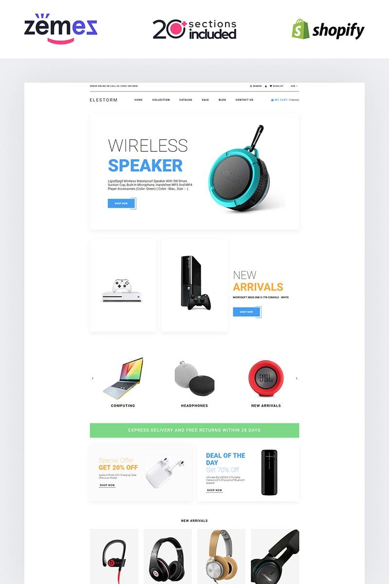 Elestorm - Electronics Store eCommerce Clear №84734