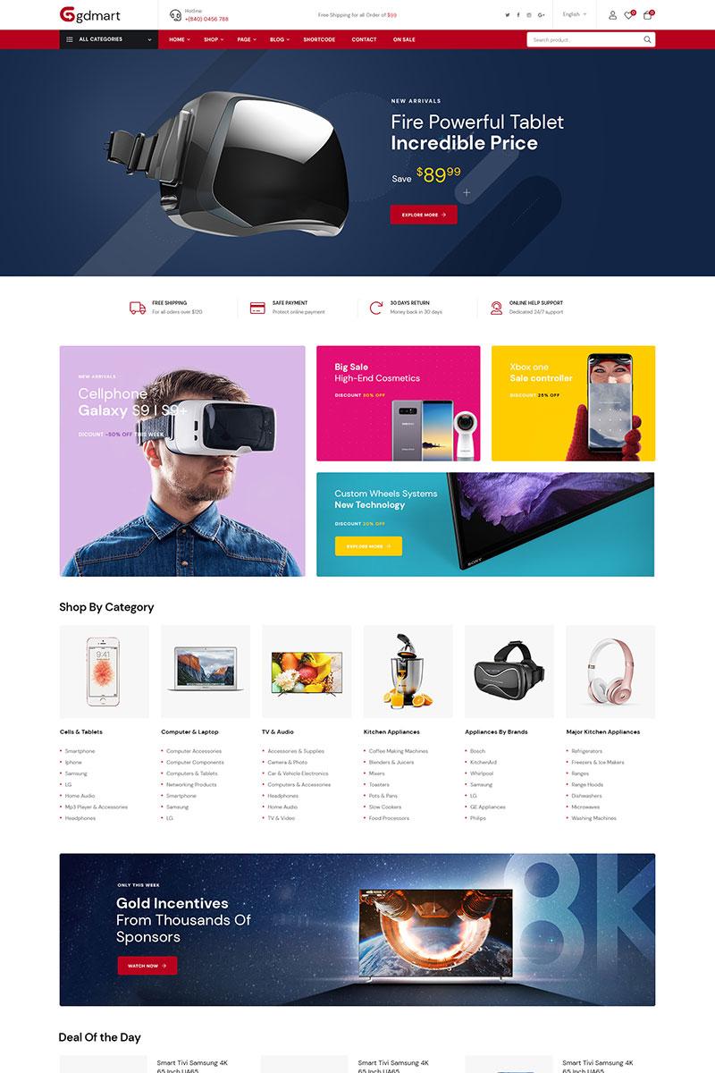 Gdmart - Supermarket Online WooCommerce Theme - screenshot