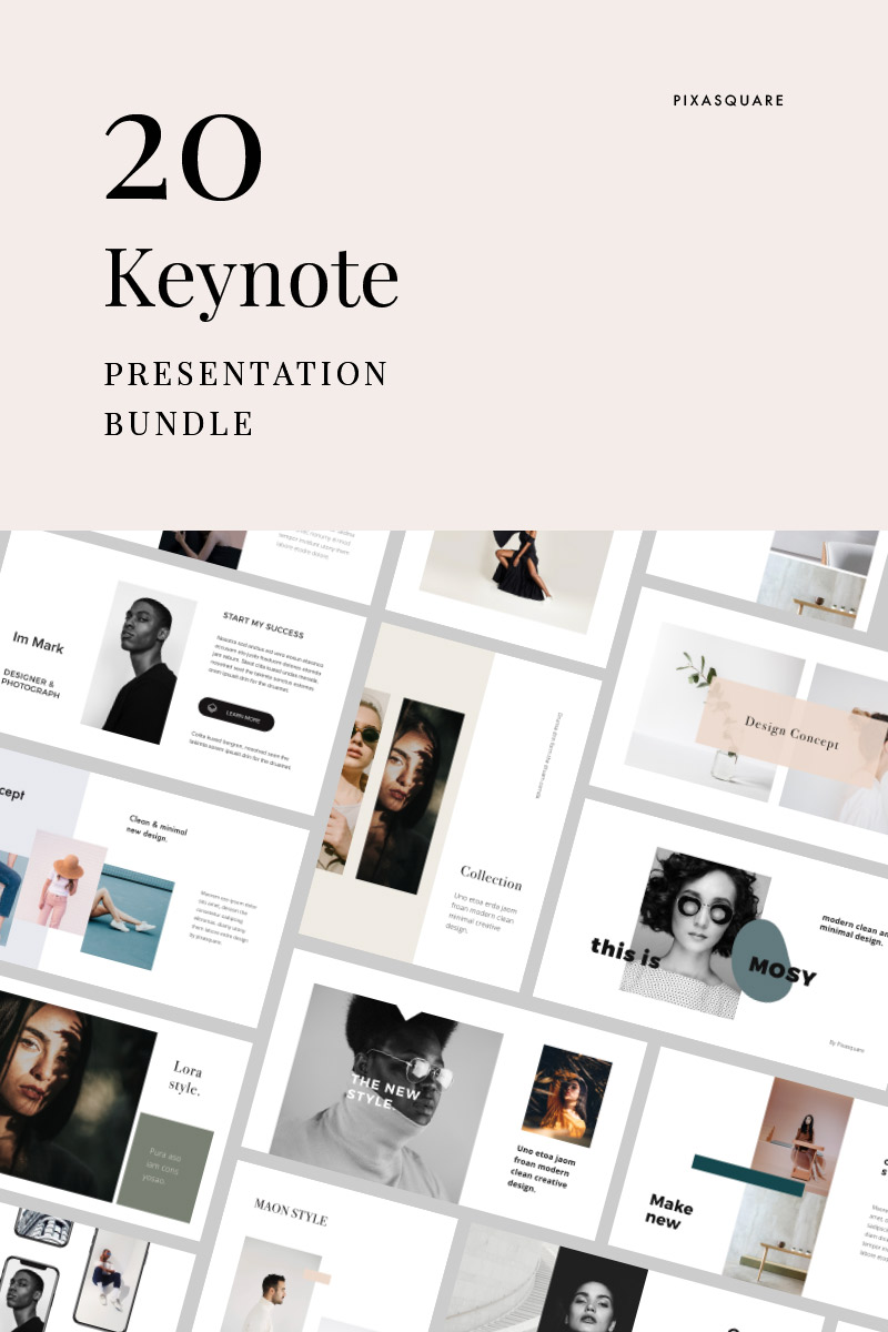 Bundle - Presentation Keynote Template #84885