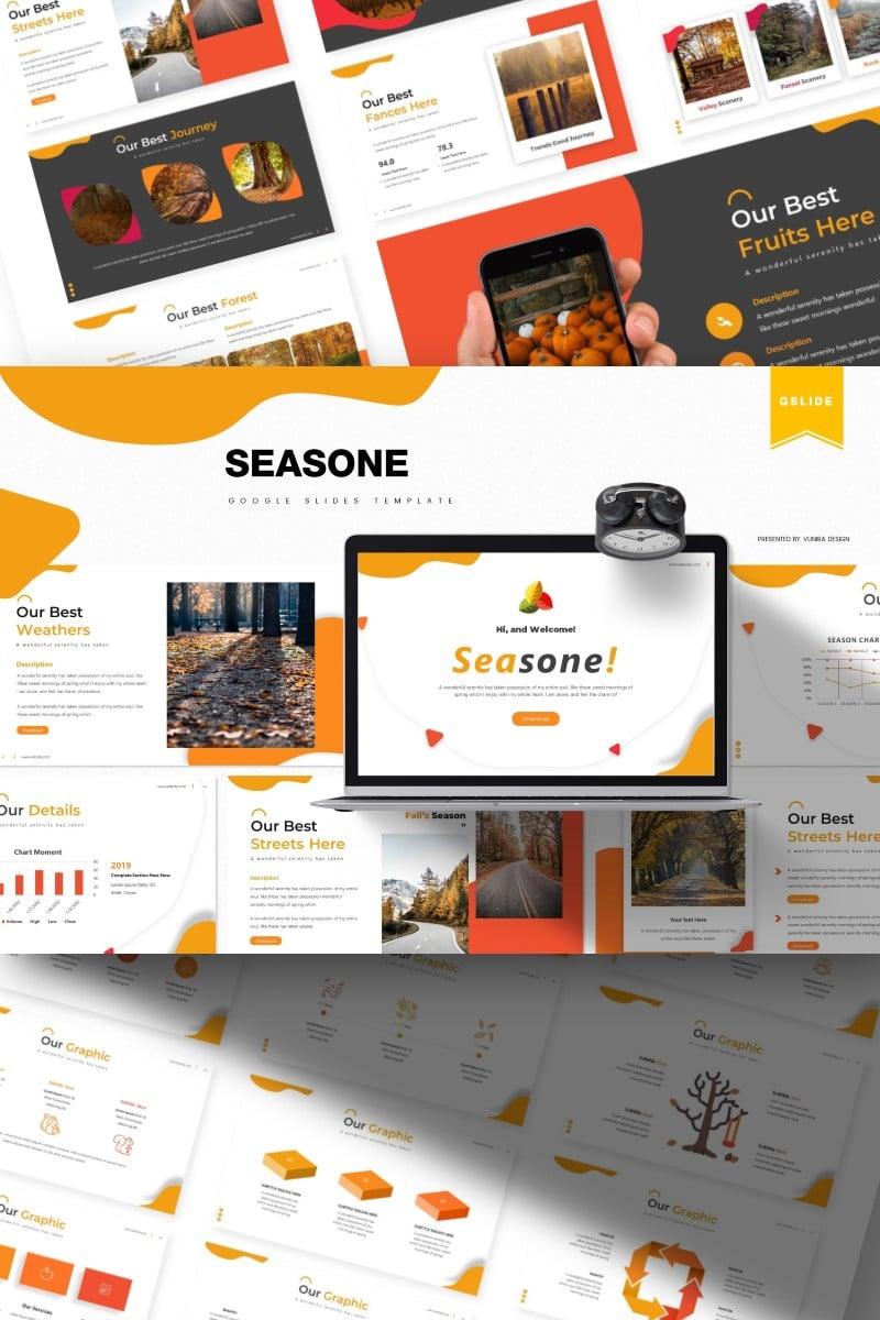 Seasone | Google Slides - screenshot