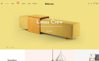 Marcus - Furniture & Home Decor PrestaShop Theme