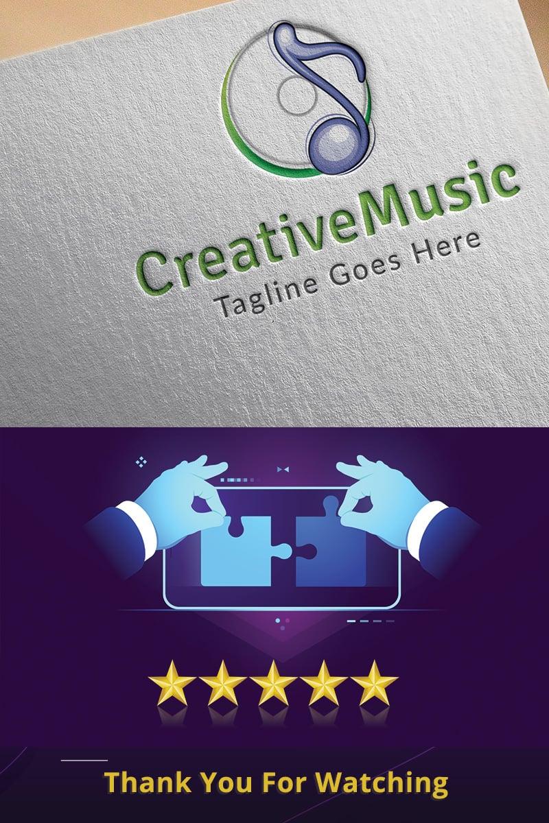 CreativeMusic Logo Template