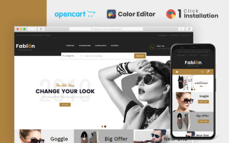 Fabion Fashion Store OpenCart Template