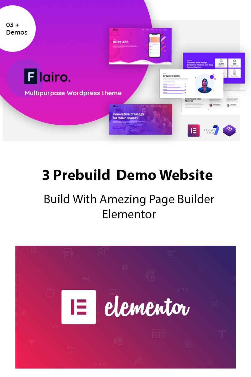 Flairo - Responsive WordPress Theme