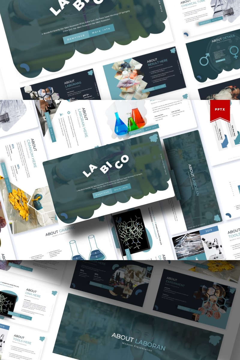 LA BI CO | Template PowerPoint №84908