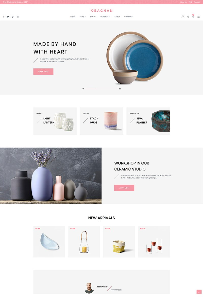 Obachan - Furniture WooCommerce Theme