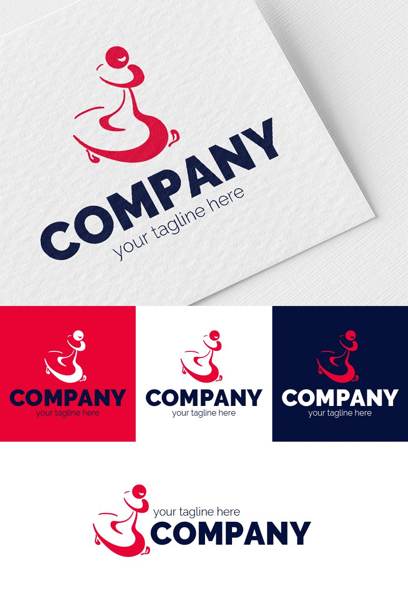Pawn Courier Logo Template