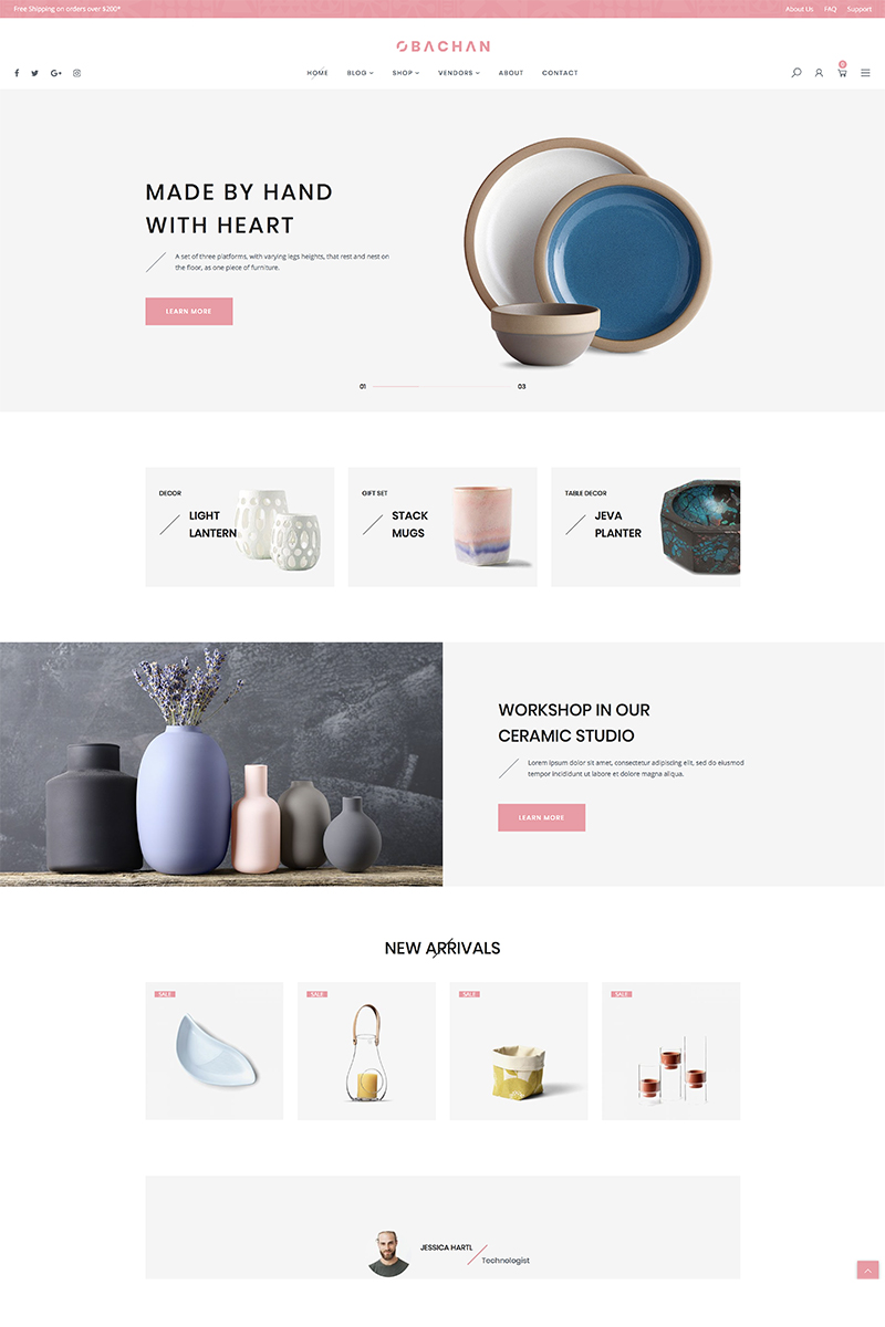 "Tema WooCommerce ""Obachan - Furniture"" #84929 - captura de pantalla"